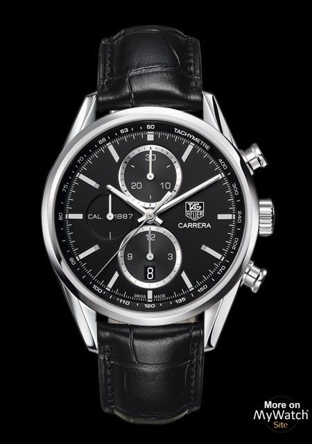 watch tag heuer carrera calibre 1887 chronographe. Black Bedroom Furniture Sets. Home Design Ideas