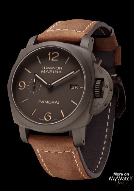 selector watches gmt luminor watch monopulsante p panerai officine