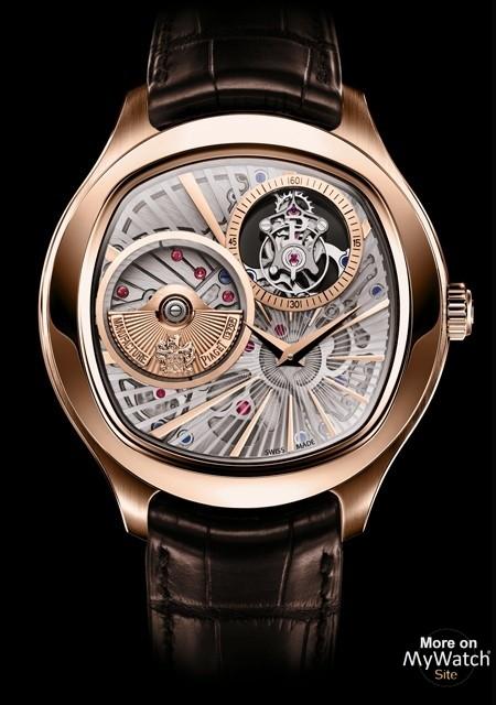 watch piaget emperador coussin tourbillon automatique extra plat emperador g0a36041 pink gold. Black Bedroom Furniture Sets. Home Design Ideas