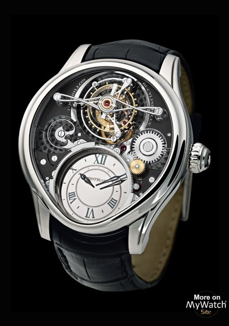 Tourbillon Bi-Cylindrique - White Gold - Montblanc