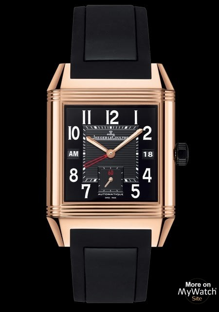 Hublot Watch Price >> Watch Jaeger-LeCoultre Reverso Squadra Hometime Black ...