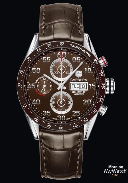 watch tag heuer carrera calibre 16 day date chronographe. Black Bedroom Furniture Sets. Home Design Ideas