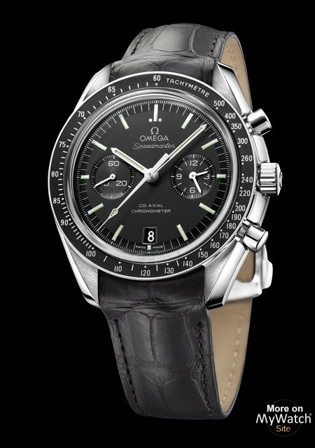 Speedmaster Moonwatch Omega Co-Axial Chronograph - Steel - Alligator Strap - Omega