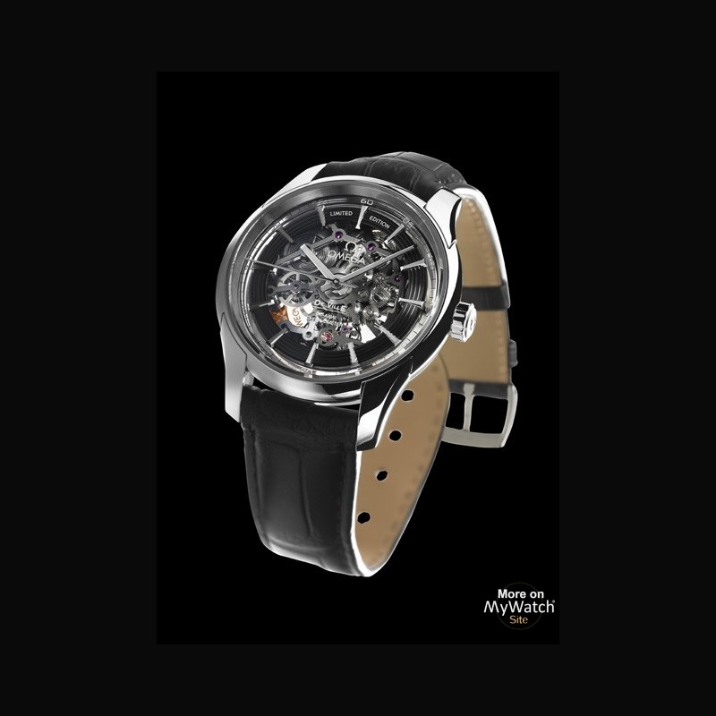 Edition Platinum: Watch Omega De Ville Hour Vision Co-Axial Skeleton