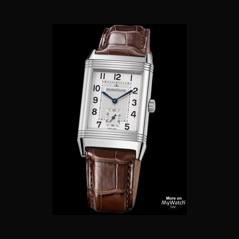 Omega Watch Price >> Watch Jaeger-LeCoultre Reverso Grande Taille | Reverso Q2708410 Steel - Aligator Bracelet