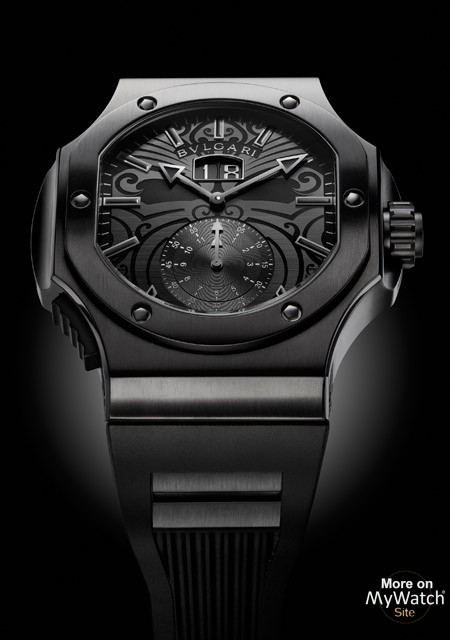 Watch Bvlgari Endurer Chronosprint All Blacks Daniel