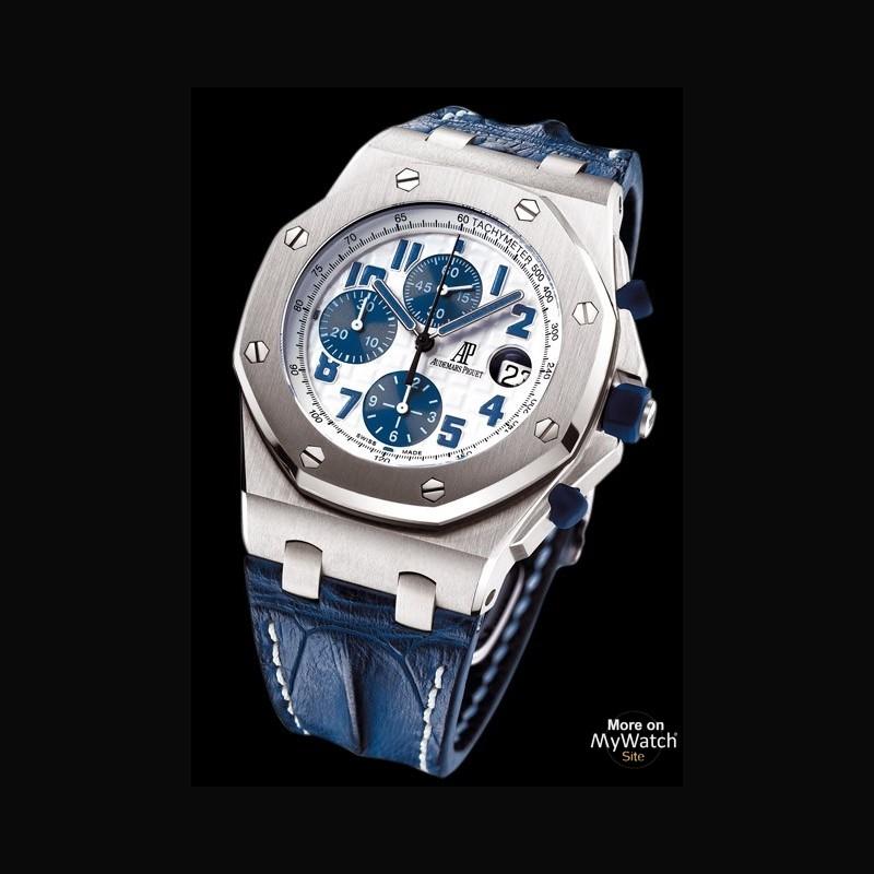 Watch audemars piguet chronographe royal oak offshore navy royal oak offshore 26170st oo for Royal oak offshore navy