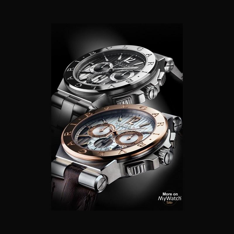 fcfdcd149704 Watch Bvlgari Diagono Calibro 303   Diagono DG42C6SPGLDCH Steel ...