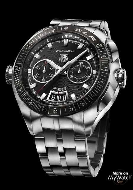 Tag heuer watch slr calibre 17 chronograph mercedes benz for Mercedes benz watch collection