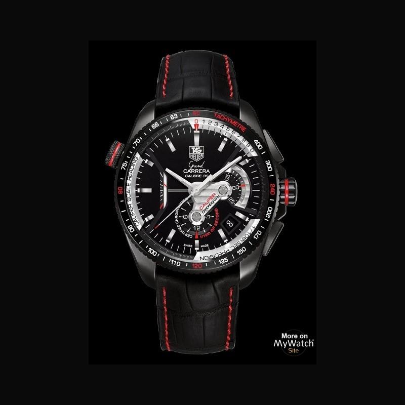 a0530f109de Watch TAG Heuer GRAND CARRERA Calibre 36 RS2 Caliper Chronographe ...