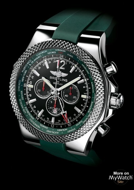 Watch Breitling Bentley Gmt British Racing Green Limited