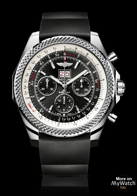 Watch Bracelet Rubber - Steel Breitling For 75 Bentley 6