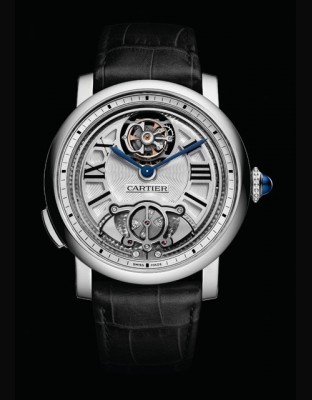 Rotonde de Cartier Répétition Minutes Tourbillon Volant