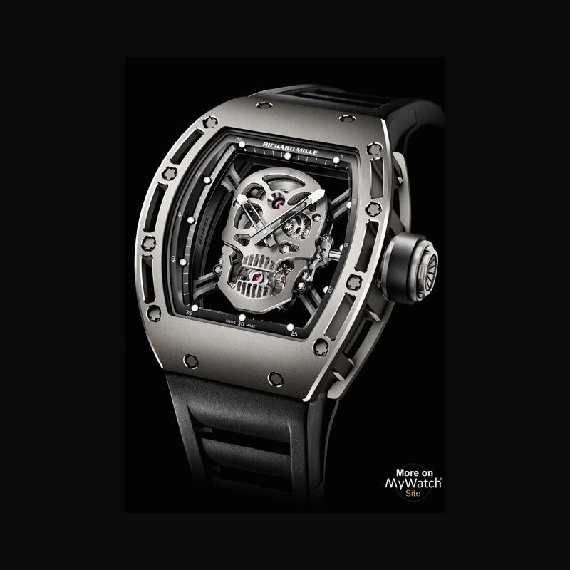 Jam tangan Richard Mille Tourbillon RM 052 Skull
