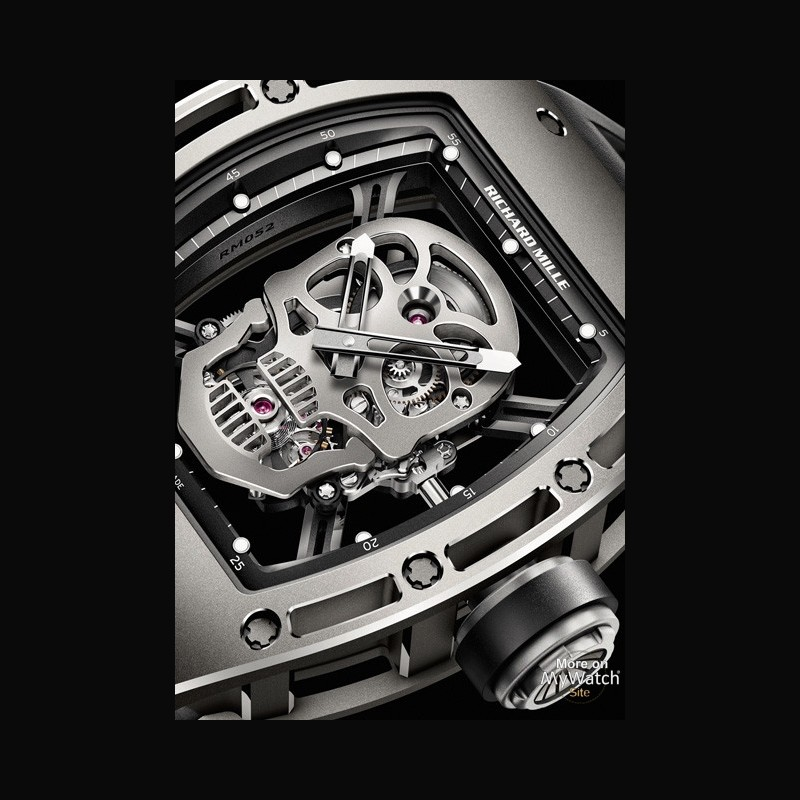 Omega Watch Price >> Watch Richard Mille RM 052 Skull | RM 052 Titanium