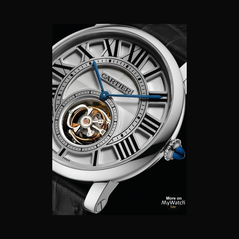 watch cartier rotonde de cartier tourbillon volant fine watchmaking collection w1556216 white. Black Bedroom Furniture Sets. Home Design Ideas