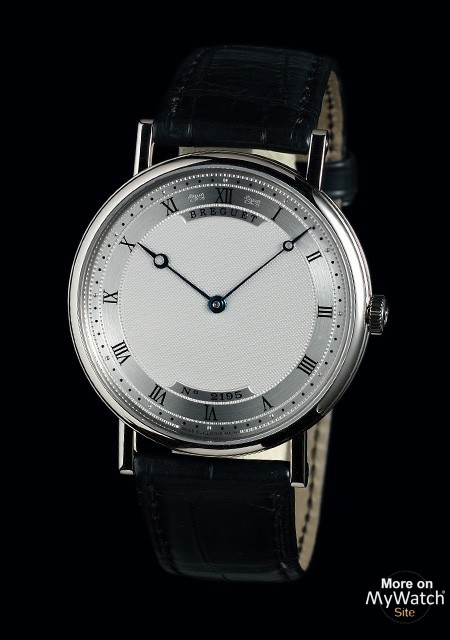 watch breguet classique 5157 extra plate classique 5157bb 11 9v6 white gold leather strap. Black Bedroom Furniture Sets. Home Design Ideas