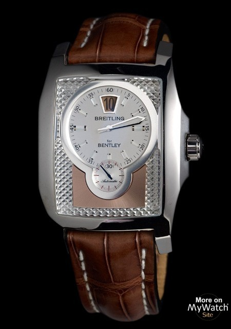 Watch Breitling Bentley Flying B Breitling For Bentley Steel Crocodile Leather Strap