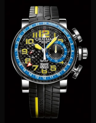 Silverstone Stowe GMT Blue & Yellow