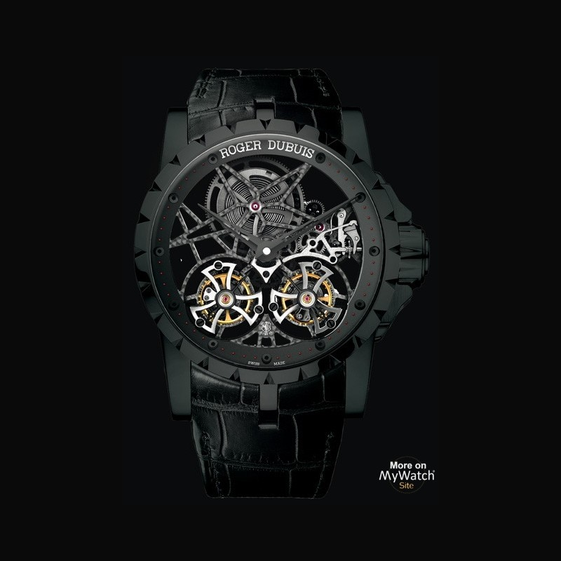 Watch roger dubuis excalibur double tourbillon volant - Knights of the round table watch price ...