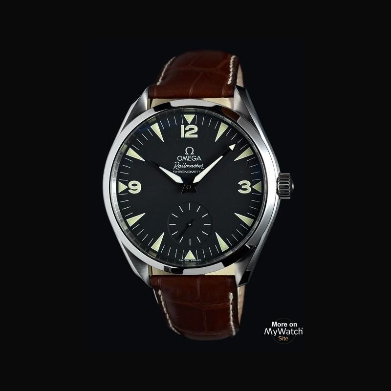 21e6d1951d8 L Omega Seamaster Railmaster Chronometer « One More Soul