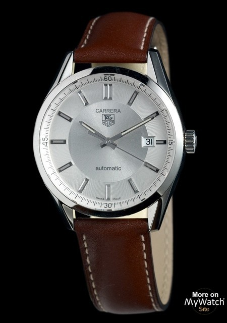 Tag Heuer Carrera 5 Leather Strap