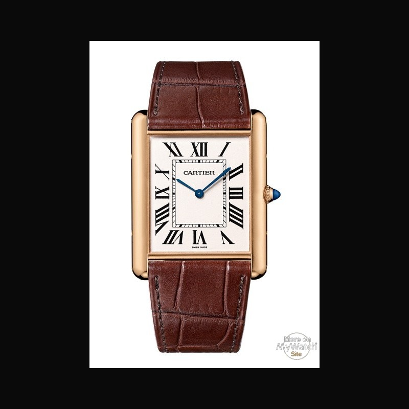 watch cartier tank louis cartier xl extra plate tank. Black Bedroom Furniture Sets. Home Design Ideas