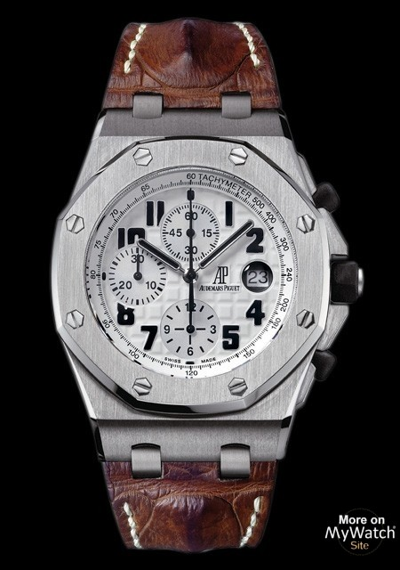Watch Audemars Piguet Chronographe Royal Oak Offshore Safari Royal Oak Offshore 26170st Oo D091cr 01 Steel Crocodile Lea