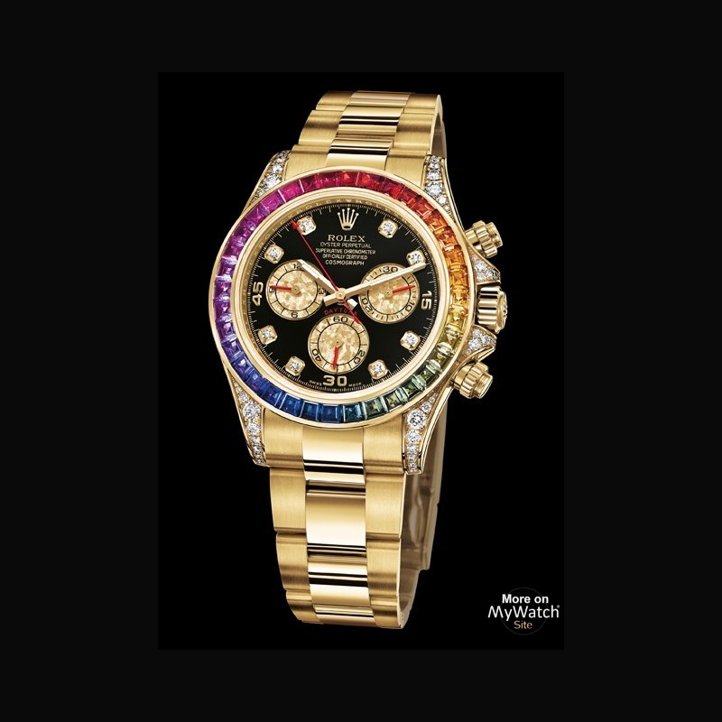 replica rolex cosmograph daytona rainbow watch