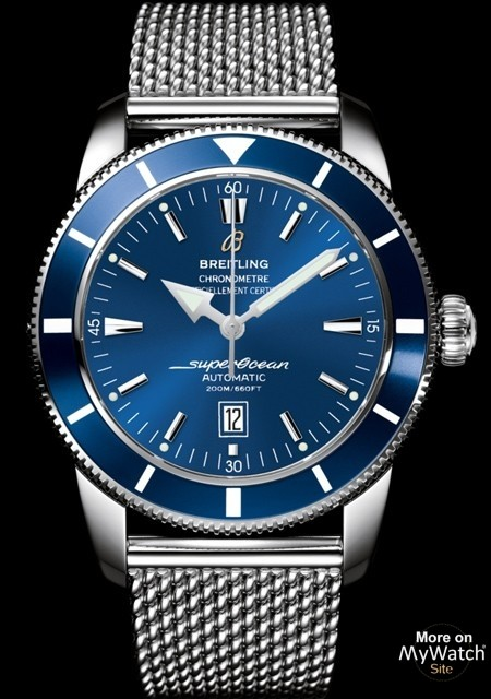now superocean com originally ii a featured special launched diver we present cc s professional breitling watchuseek anniversary h hd its month last celebrates new superoceanhe ritage the watches watch