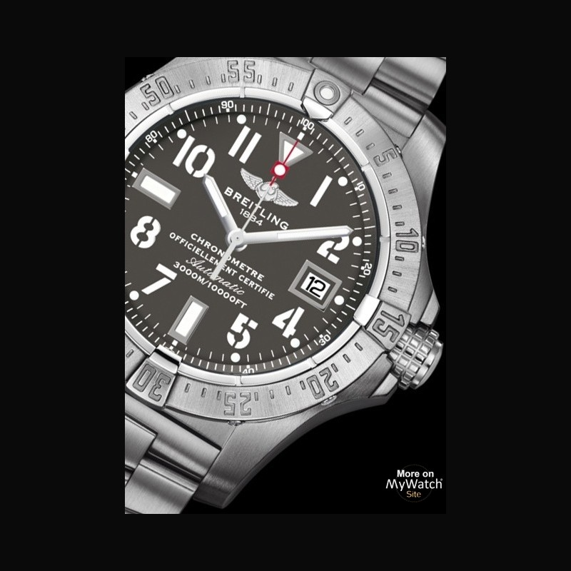 Breitling Avenger Seawolf full steel replica watch