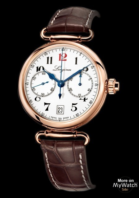 The Longines Column-Wheel Single Push-Piece Chronograph 180th Anniversary Limited Edition