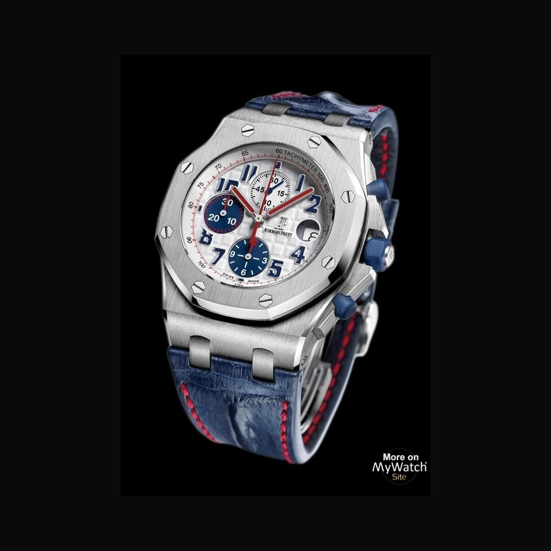 watch audemars piguet royal oak offshore chrono tour auto 2012 royal oak offshore. Black Bedroom Furniture Sets. Home Design Ideas