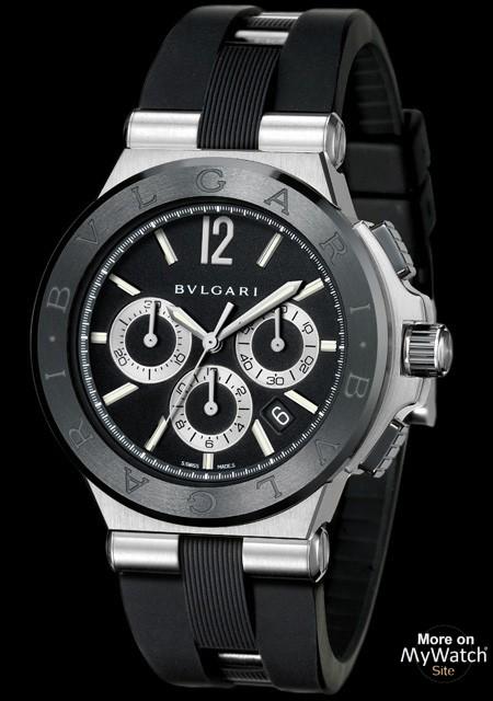 Watch Bvlgari Diagono Ceramic   Diagono DG42BSCVDCH Steel ... 16544a74f44