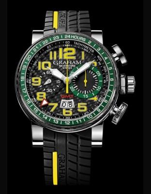 Silverstone Stowe GMT  Yellow & Green