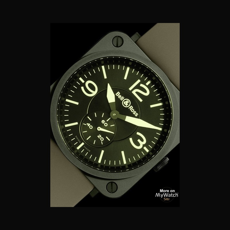 Watch Bell Amp Ross Br S Military Ceramic Aviation Brs