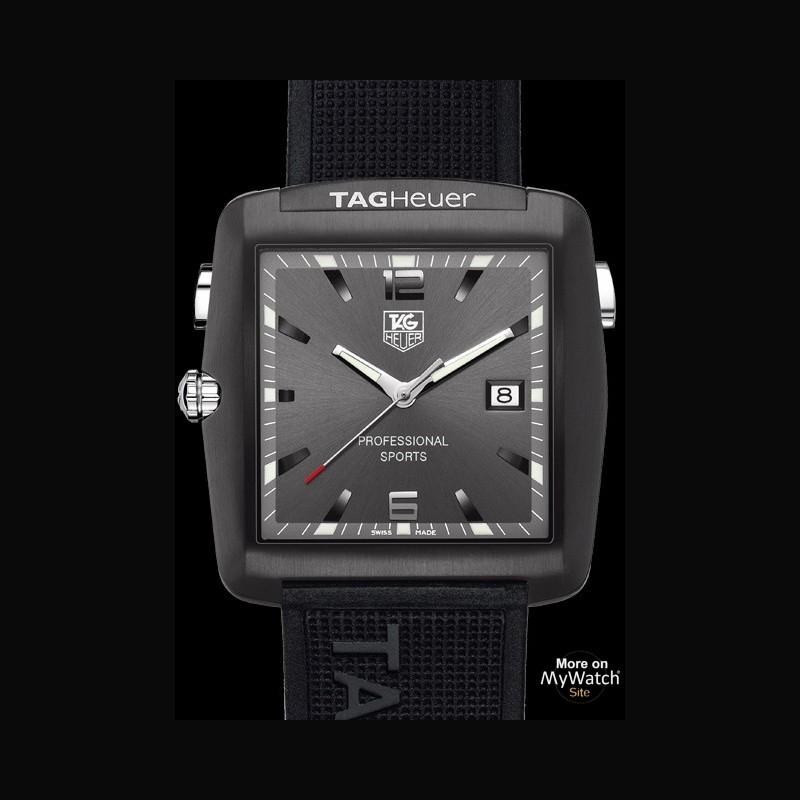 Watch Tag Heuer Professional Golf Watch Golf Watch Wae1113 Ft6004 Titanium Steel Silicon Strap