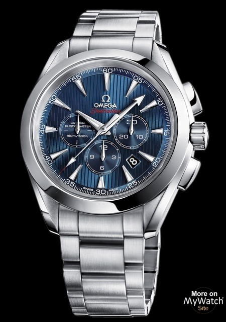 Seamaster Aqua Terra Co-Axial Chronograph 'London 2012'