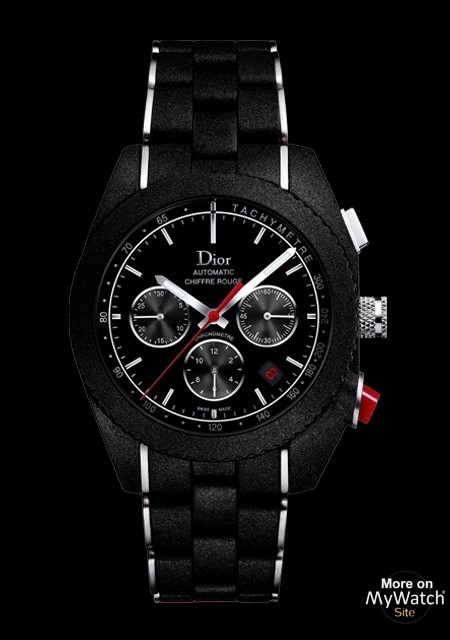 Watch Dior Chiffre Rouge A05 Chiffre Rouge Cd084841r001 Steel Black Rubber