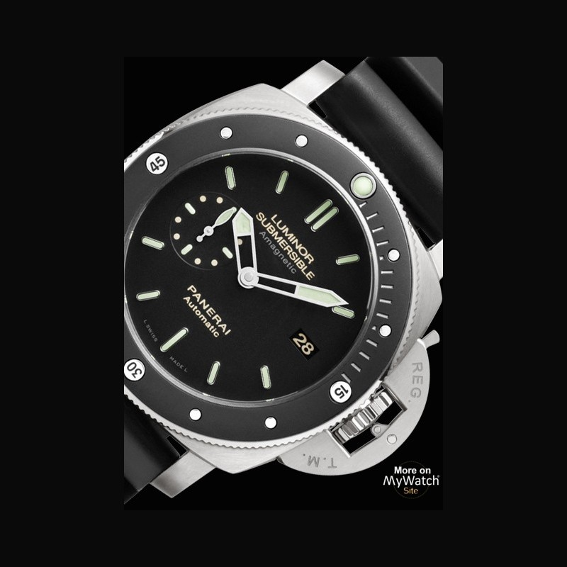 collections watch collection luminor submersible days automatic titanio
