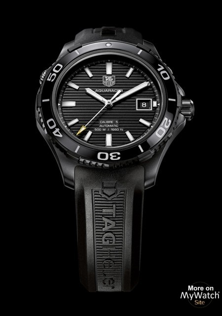 Watch Tag Heuer Aquaracer 500m Ceramic Calibre 5 Full