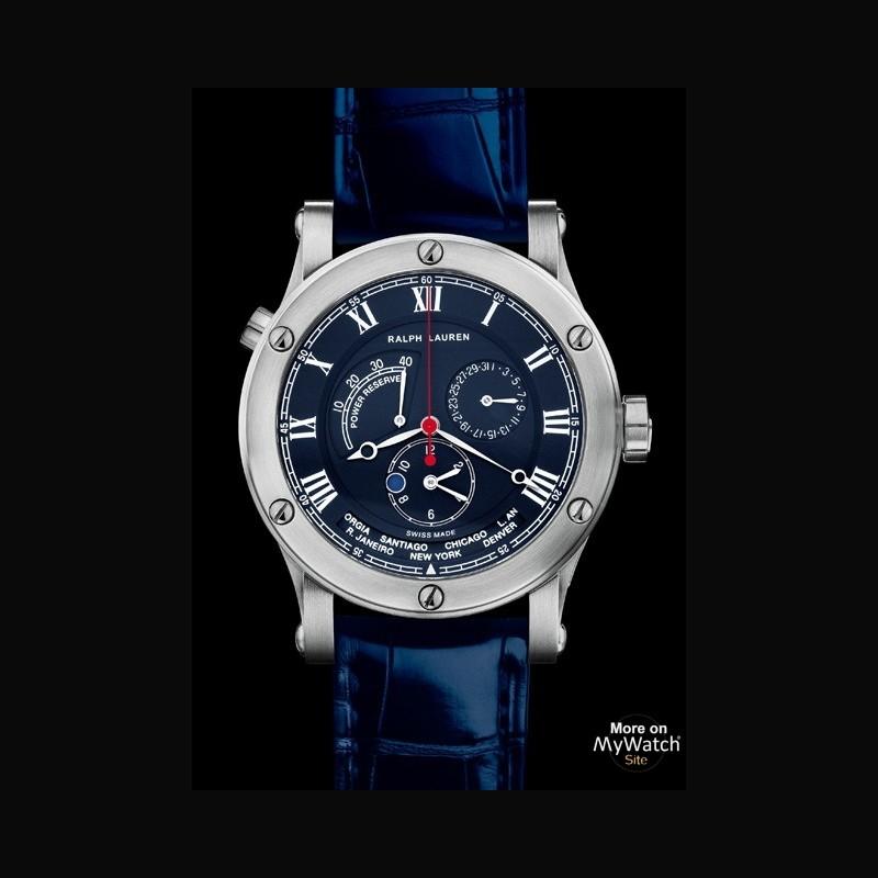 Hublot Watch Price >> Watch Ralph Lauren Sporting World Time | Ralph Lauren ...