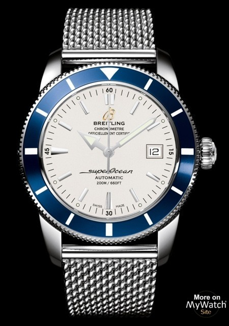 breitling watches superocean blue ritage watch h steel aeromarine heritage
