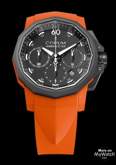 Admiral's Cup Challenger 44 Chrono Rubber