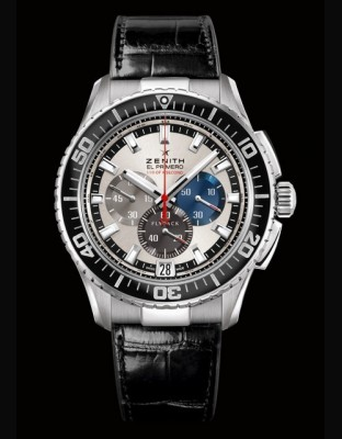 El Primero Stratos FlyBack Stricking 10th Tribute to Felix Baumgartner