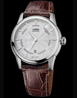 Oris Artelier Petite Seconde Pointer Day