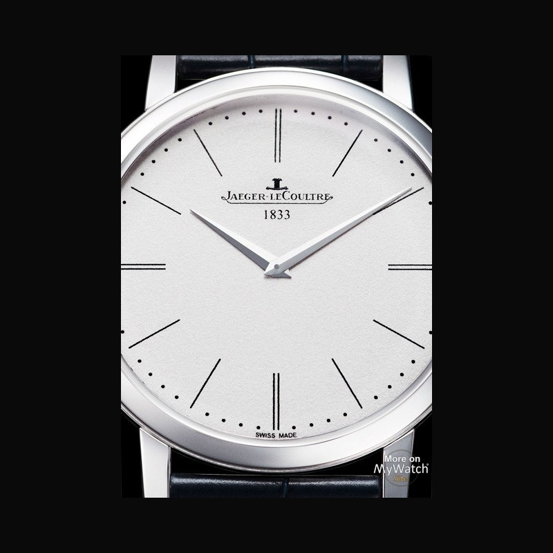 Jaeger LeCoultre Master Ultra Thin Jubilee Platinum