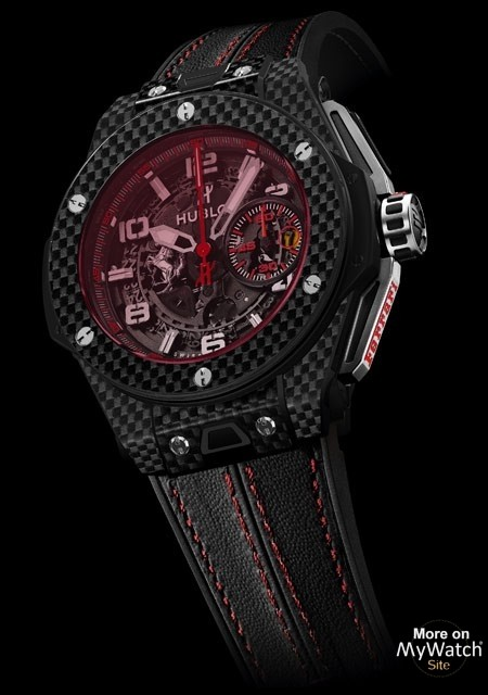 Big Bang Ferrari Carbon Red Magic -  - Hublot