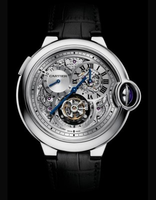 Ballon Bleu de Cartier tourbillon second fuseau double sautant
