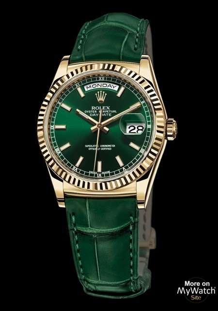watch rolex daydate oyster perpetual 118138 yellow gold
